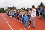 Zahájení školního roku v Základní škole v Kovářově.