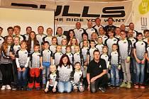 Cyklistický oddíl Biketime Bulls Písek.