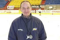 """Alois Chlustina, trenér prvoligových hokejistů IHC Komterm Písek, je před úvodním zápasem baráže s Jindřichovým Hradcem optimistou. """"Získat tři body je naše povinnost,"""" říká kouč."""
