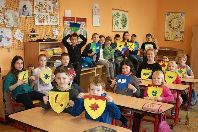 Žáci v Klukách se přenesli do středověku.