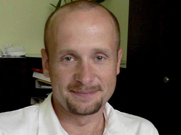 MUDr. Michal Turek, zástupce primáře gynekologicko-porodnického oddělení písecké nemocnice.