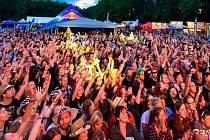 Festival Open Air Musicfest Přeštěnice.