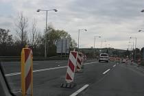 Dopravní omezení na Šrámkově mostě v Písku