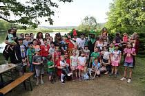 Den dětí v obci.