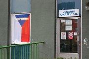 Prezidentské volby v okrsku č. 16 v Písku.