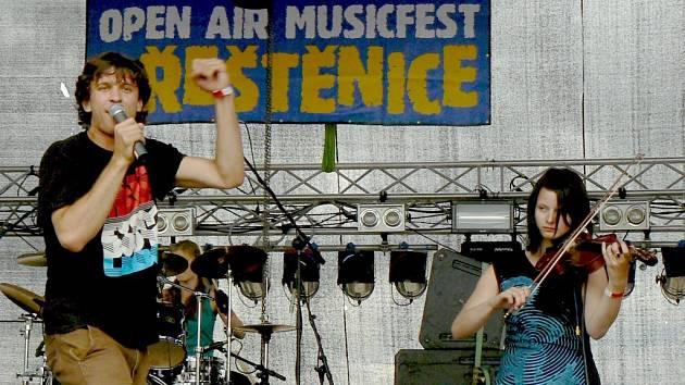 OPEN AIR MUSICFEST PŘEŠTĚNICE 2008. Possibilní explikace z Písku.