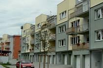 V Písku roste nová bytová výstavba také U Hřebčince.