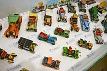 Součástí expozice Všude papír jsou také papírové modely z dílny Richarda Vyškovského.