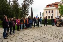 Školáci uctili památku obětí války.