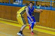 Závěrečný duel sezony 1. ligy basketbalistů Písek - Prostějov.