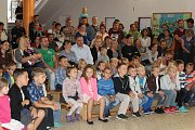 První školní den v ZŠ T. G. Masaryka v Písku.