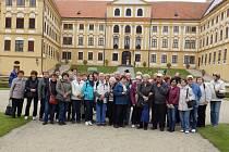 Senioři z Písecka navštívili městečko Jaroměřice nad Rokytnou.