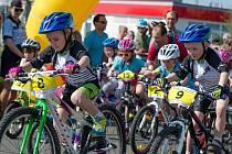 Tradiční dětský cyklistický závod v areálu CykloŠvec.