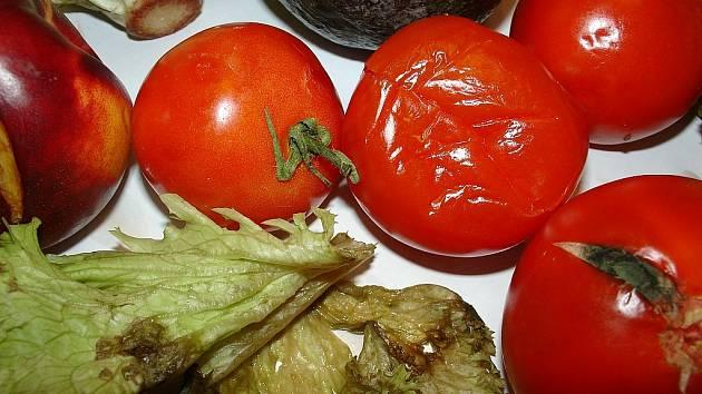 Zelenina z píseckého Kauflandu.