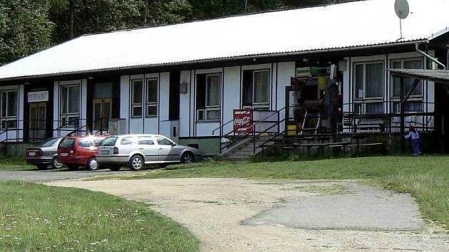 Restaurace v kempu Podolsko. (ilustrační foto).