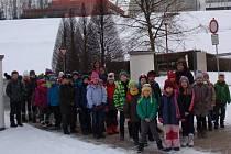 Děti ze Základní a mateřské školy v Albrechticích nad Vltavou navštívily Temelín.