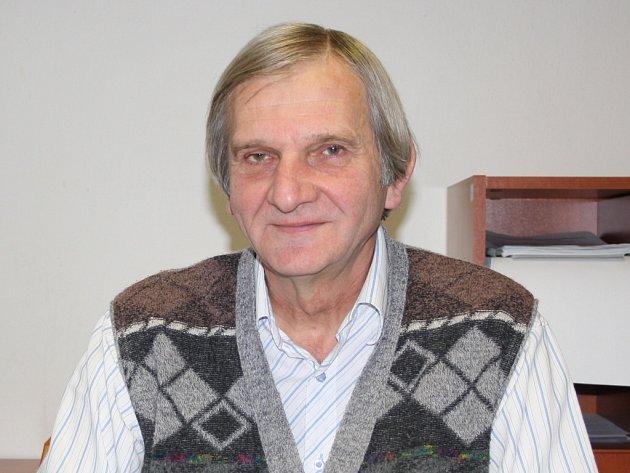 Starosta Ostrovce Dušan Ország.
