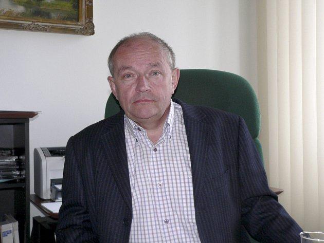 ŘEDITEL. Jan Prokop, generální ředitel  akciové společnosti Jitex Písek.