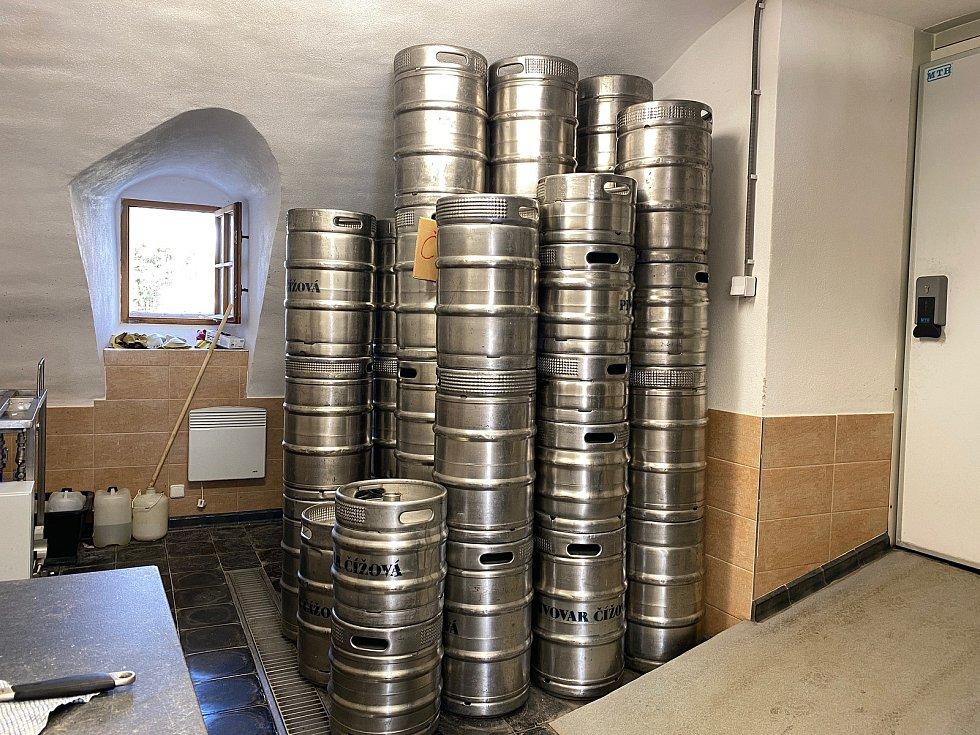 Současná podoba pivovaru v Čížové