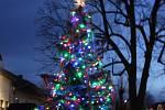 7. Vánoční strom Čimelice.