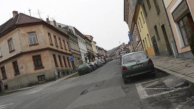 Takto vypadala Prokopova ulice před rekonstrukcí.