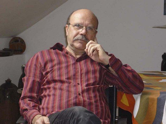 Akademický malíř Dalibor Říhánek