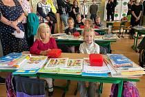Zahájení nového školního roku na písecké Základní škole Edvarda Beneše.