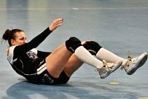 Písecká spojka a druhá nejlepší kanonýrka MOL ligy Tereza Pokorná nastřílela Dunajské Stredě 9 gólů, ale její tým na Slovensku prohrál vysoko 23:32.
