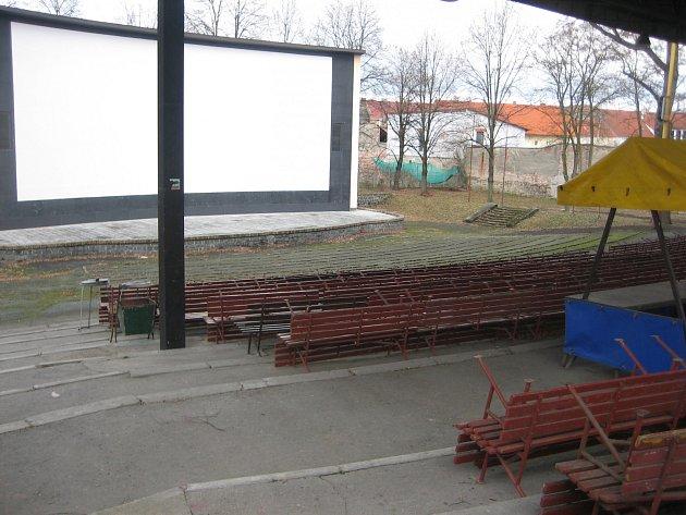 Letní kino v Písku.