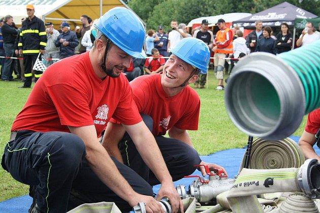 O putovní pohár hasičů okresu Písek, Tálín 5.7.2011