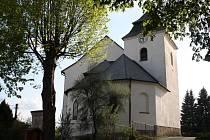 Kostel sv. Prokopa v Chyškách.