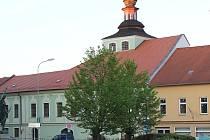 Milevsko, budova bývalé radnice. Ilustrační foto