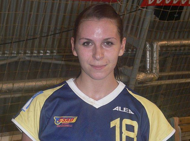 Házenkářka Iveta Luzumová (na snímku) je osobností nejen interligového družstva Sokola Písek, ale i reprezentačního družstva žen České republiky.