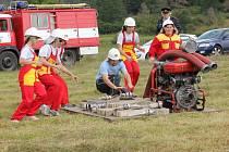 Ve Zlivicích soutěžili hasiči.