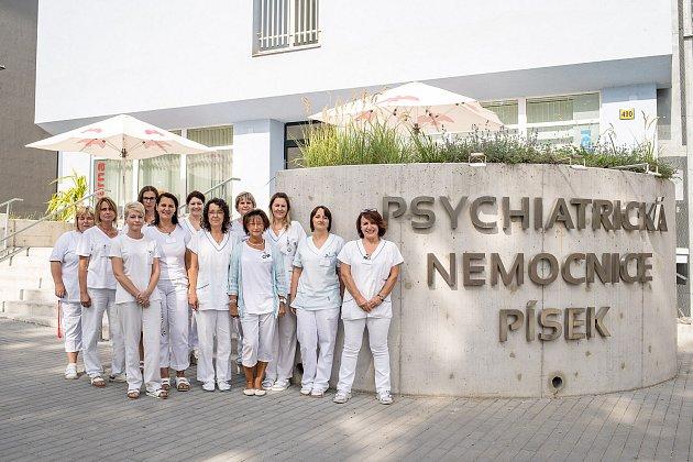 Psychiatrická nemocnice Písek.