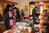 Vánoční jarmark řemesel v Milevském Muzeu.