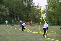 1. kolo 23. ročníku soutěže hasičských družstev O putovní pohár hasičů okresu Písek 2019 v Boudách.