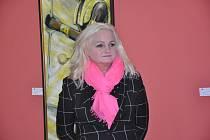 V  písecké galerii Portyč se ve čtvrtek 2. března uskutečnila vernisáž výstavy Aleny Vitákové.