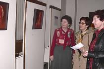 V Galerii Portyč v Písku je otevřena výstava obrazů Ivana Bukovského a Pavla Turjanského nazvaná Konstrasty.