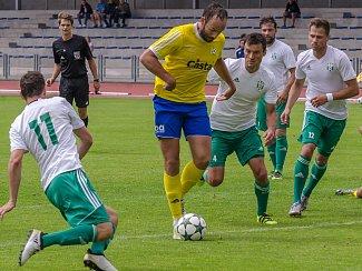 Antonín Presl (FC Písek) byl u většiny branek svého týmu