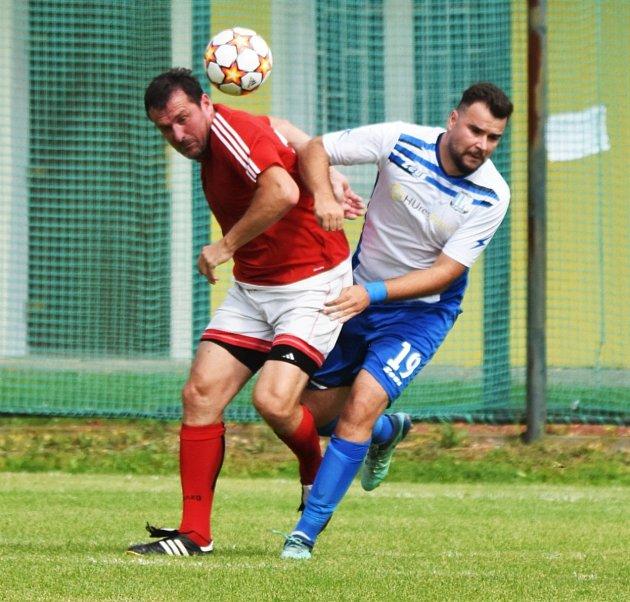 Fotbalová I.Atřída: Mirovice - Strunkovice 1:0.