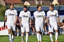 Sokol Hostouň - FC Písek fotbal 0:1 (0:0).