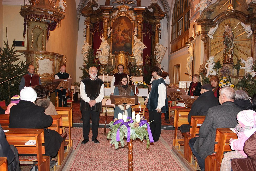 Koncert hudebního souboru Musica Bohemica Praha.