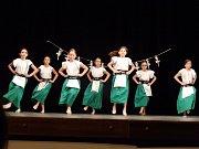 Závěrečné vystoupení žáků tanečního oboru ZUŠ Písek.