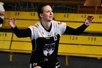 Písecká kanonýrka Tereza Pokorná se proti Plzni trefila sedmkrát a její tým na západě Čech zvítězil 31:26.