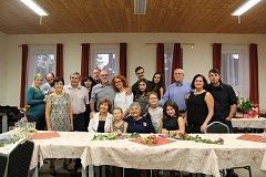 Paní Růžena Hůlová z Vlastce oslavila devadesátiny s rodinou a přáteli.