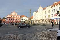Alšovo náměstí v Písku. Ilustrační foto