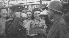 Růžena Styblíková v květnu 1945.