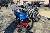 Sdílená kola v Písku mají jednotný design