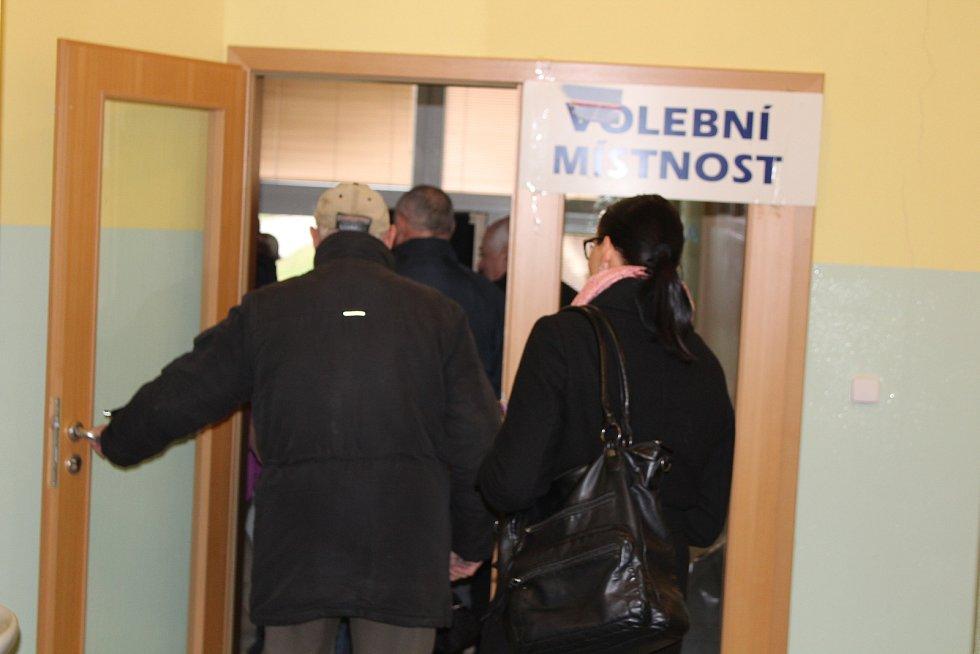 2. kolo prezidentských voleb 2018 v Písku.